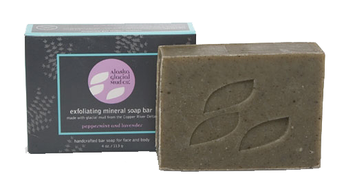 ... Soap Bar - LAVENDER-PEPPERMINT by Alaska Glacial Mud Co. - Musely