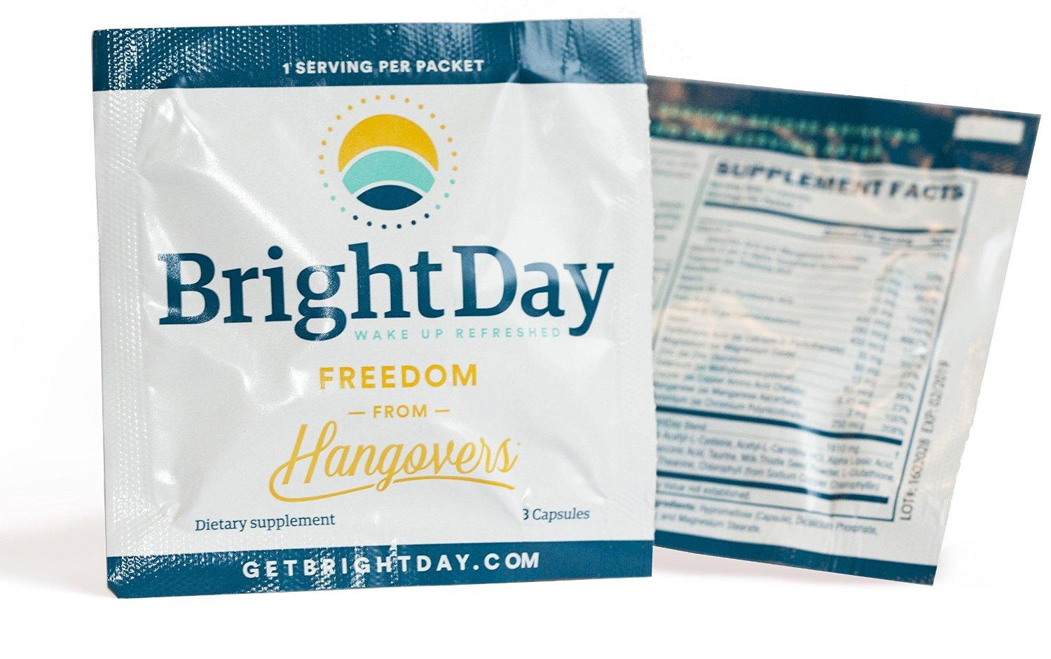 BrightDay Hangover Prevention - 5 packets