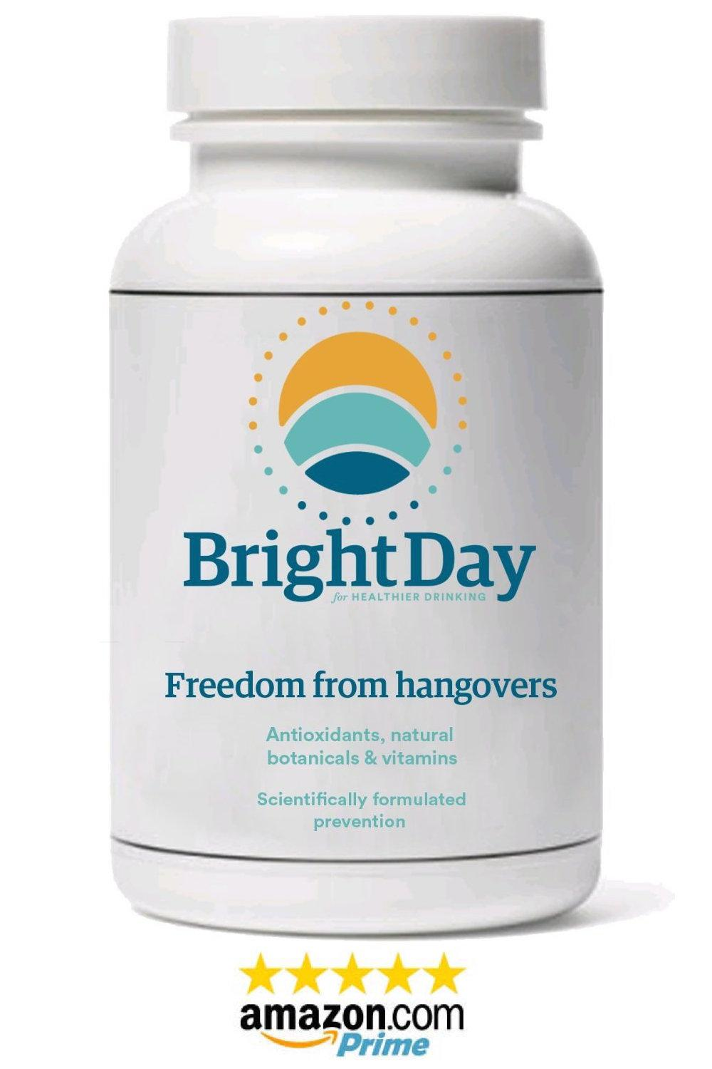 BrightDay Hangover Prevention - 1 bottle