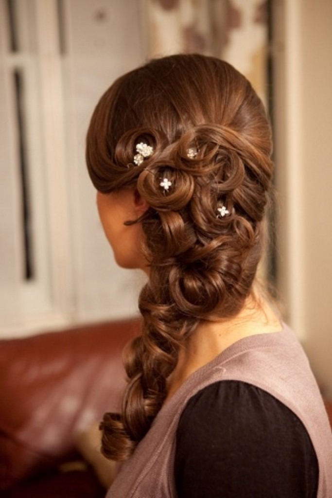 Прически с длинных волос для взрослых женщин