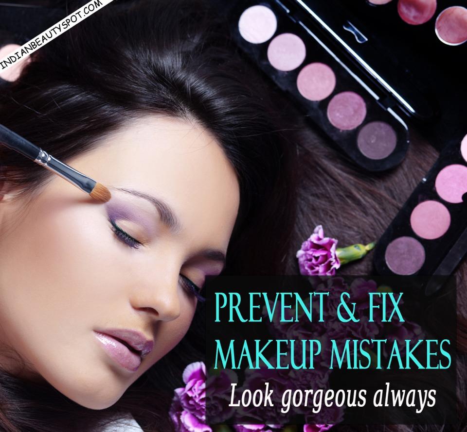 Prevent & Fix Makeup Mistakes