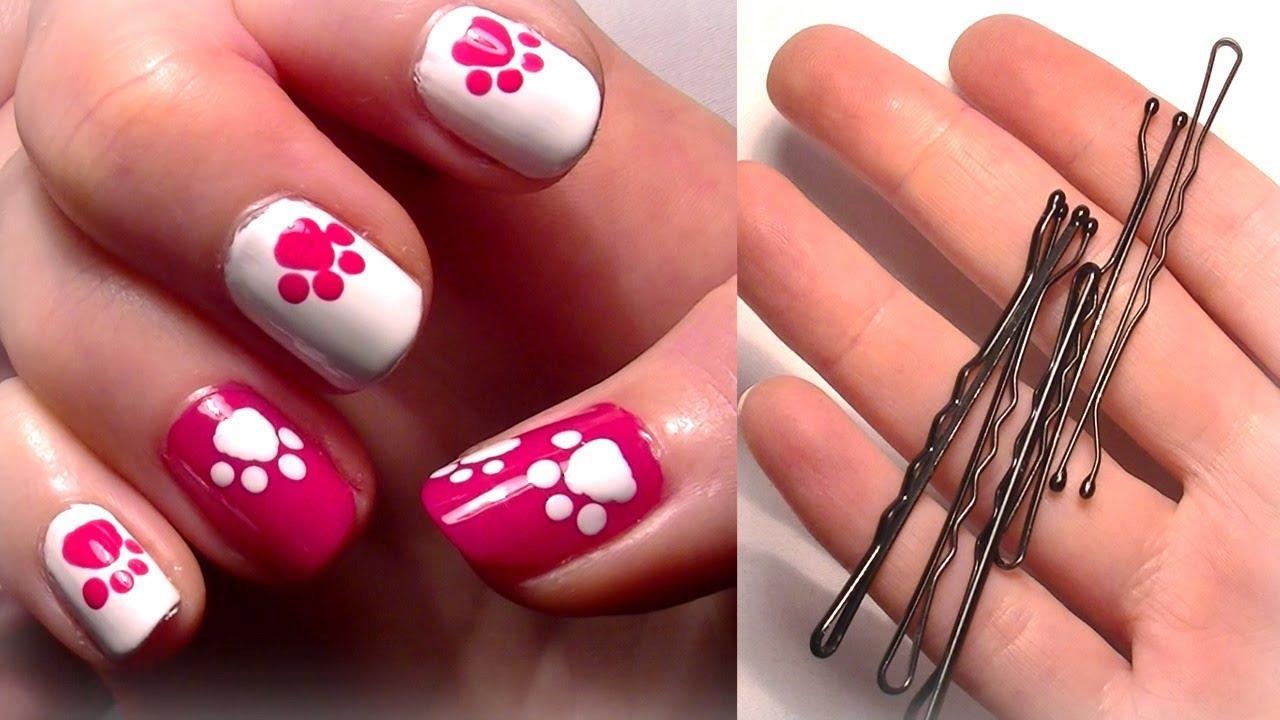 Красивые ногти легкие
