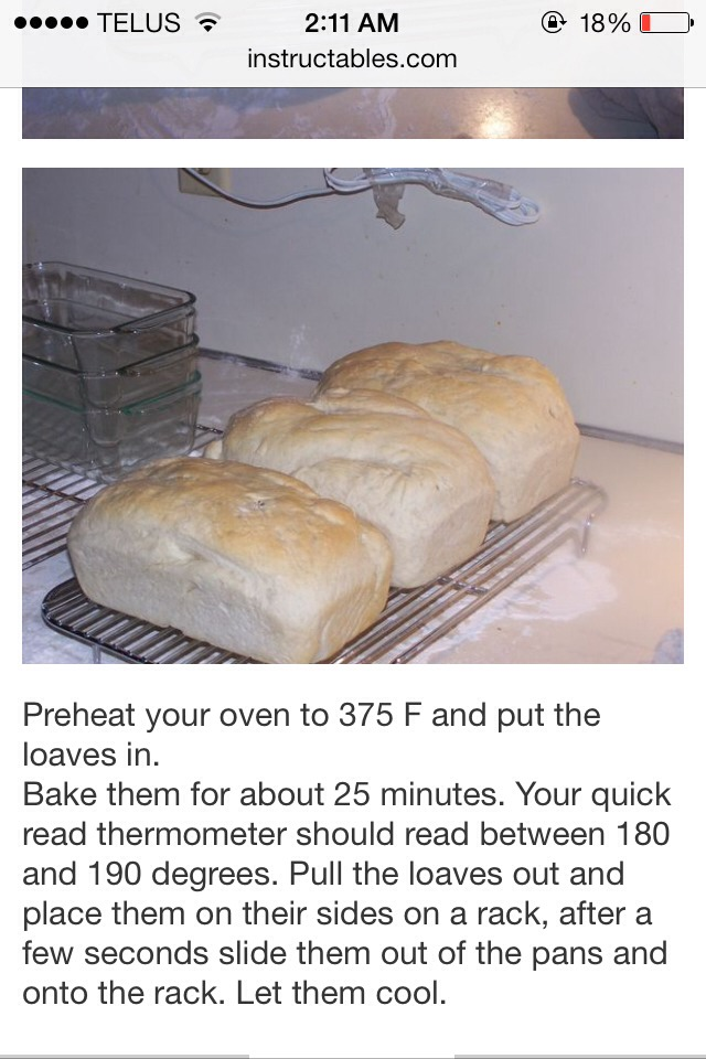 how to make homemade bread without a bread maker