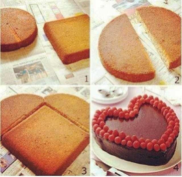 Торты из пирожных своими руками