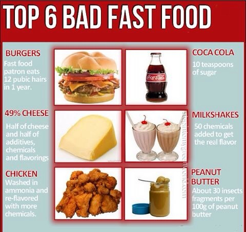 Fast Food For Baby Food