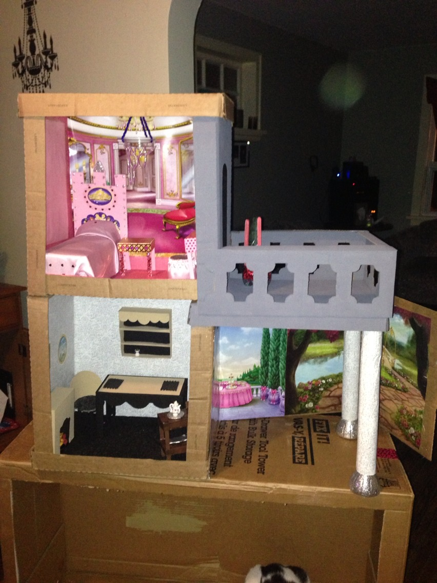Make Your Own Doll House Using Your Garbage Musely
