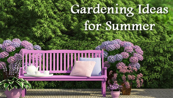 Great garden ideas for the summer musely for Great garden ideas