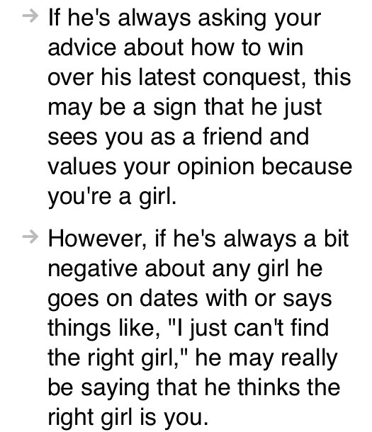 How to tell if he's interested in dating you