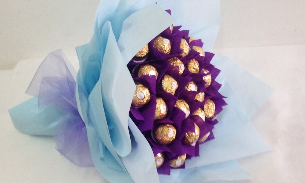 Букеты из конфет ферреро своими руками пошаговое фото