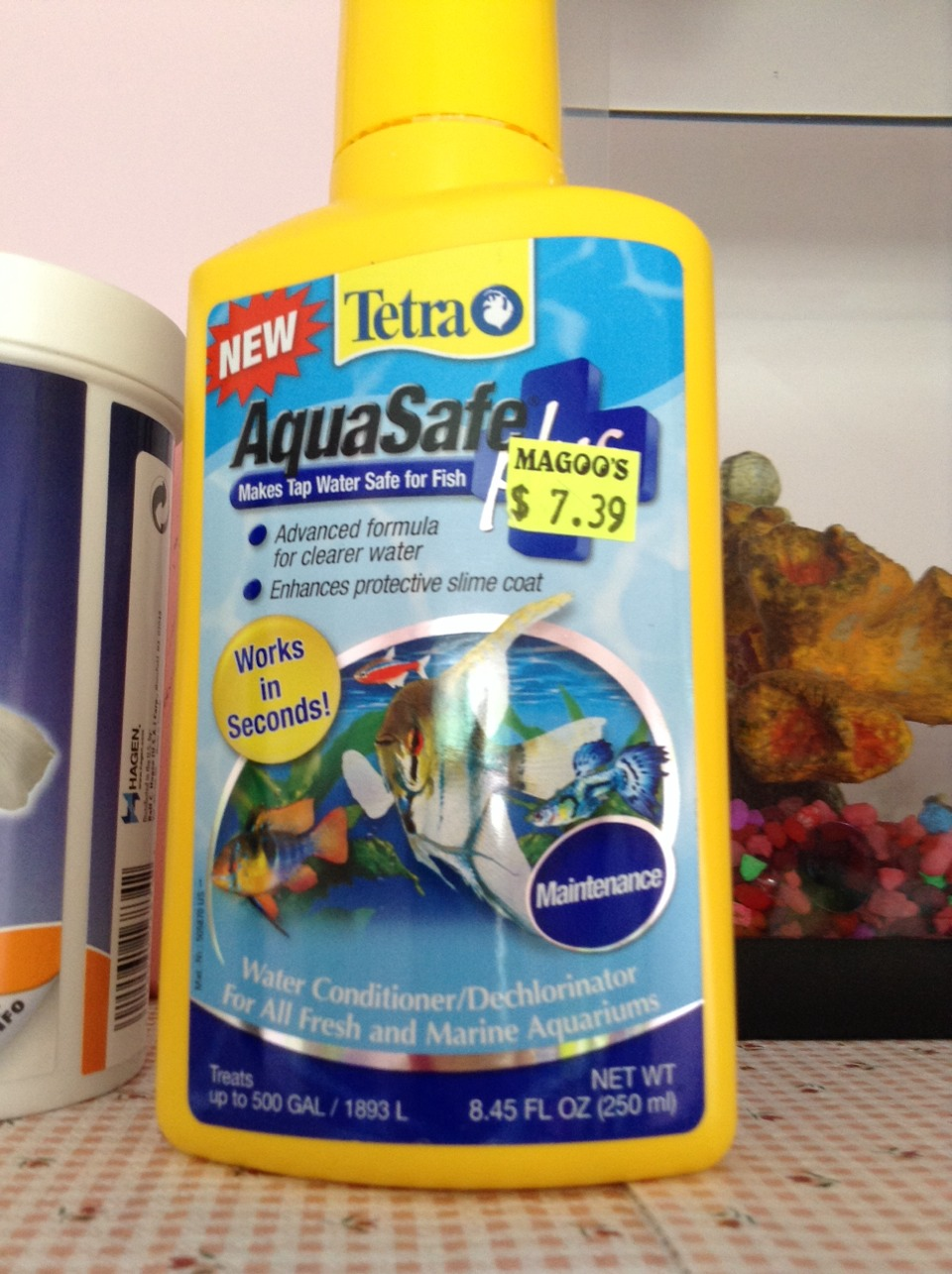 how to get fish tank water clear