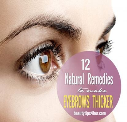 how to make my eyebrows thicker naturally