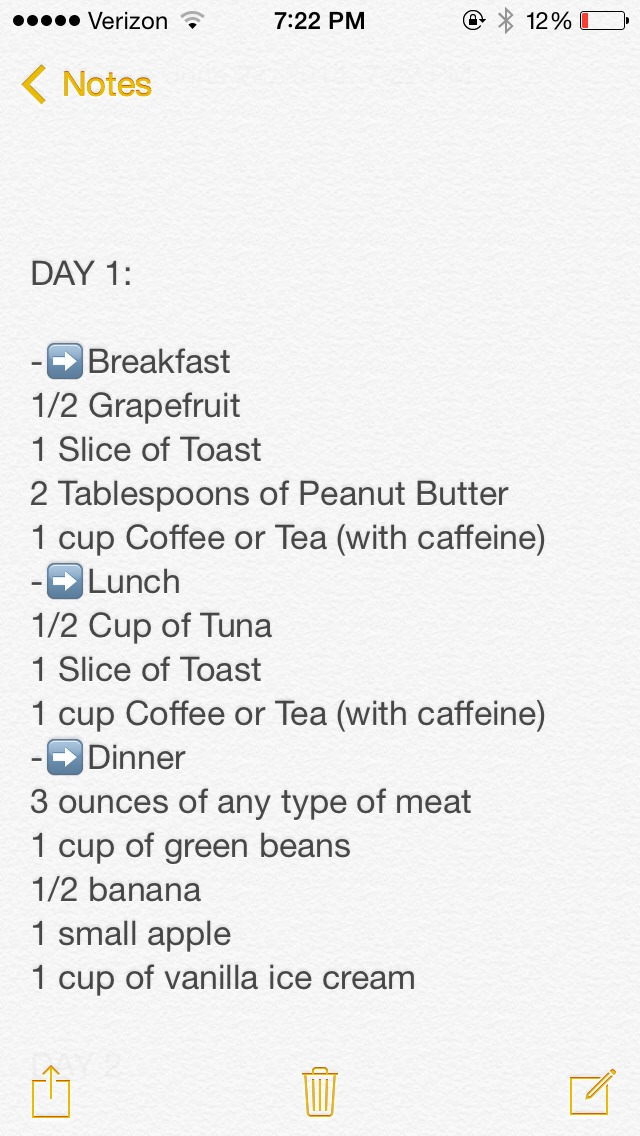 how to lose 7 pounds in 3 days