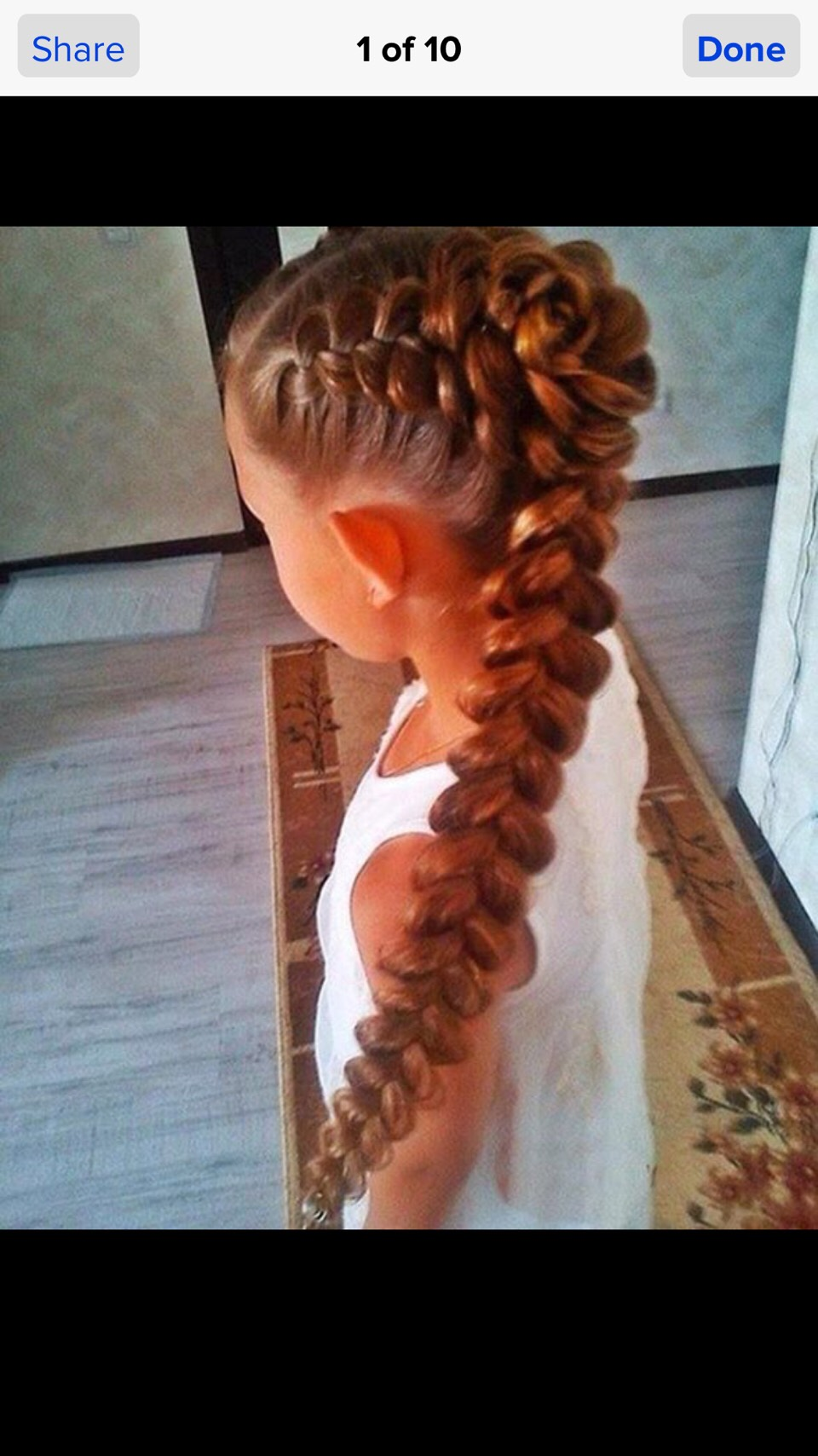 Прически из кос для детей фото