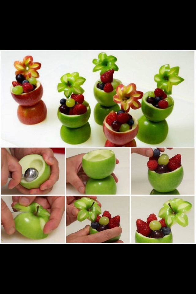 Decorative Fruit Cups - Musely