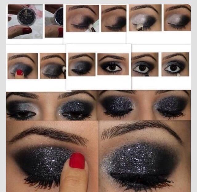 Как нанести красивый макияж для глаз