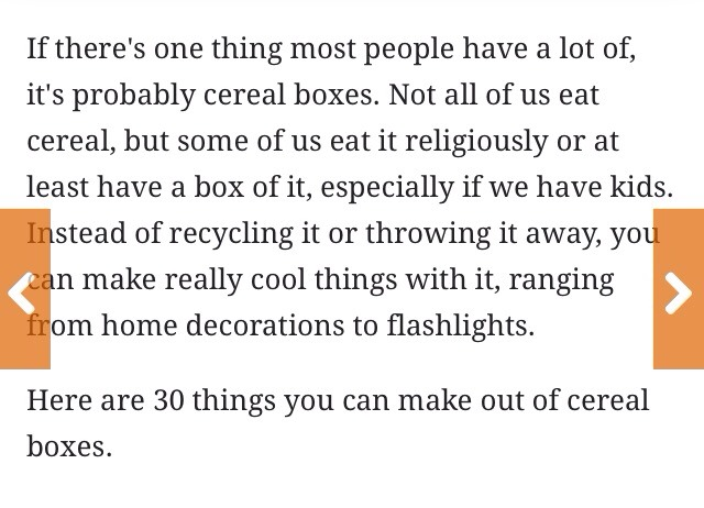 30 things you can be make out of cereal boxes musely for What to make out of cereal boxes