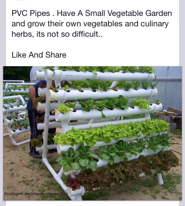 Diy Pvc Gardening Ideas And Projects: DIY Stacked Space Saving Herb Garden