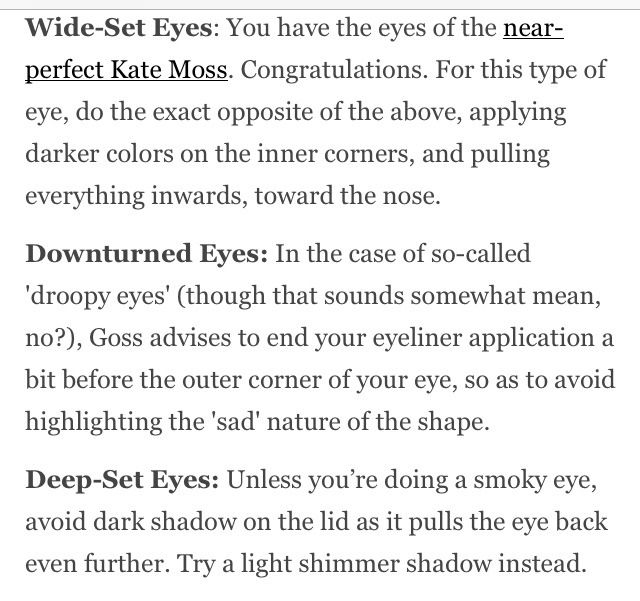 how to know your eye shape