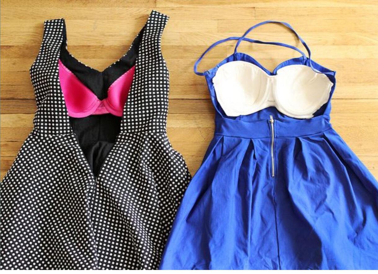 Как сшить платье без бретелек Мастер-класс - Ручная 66