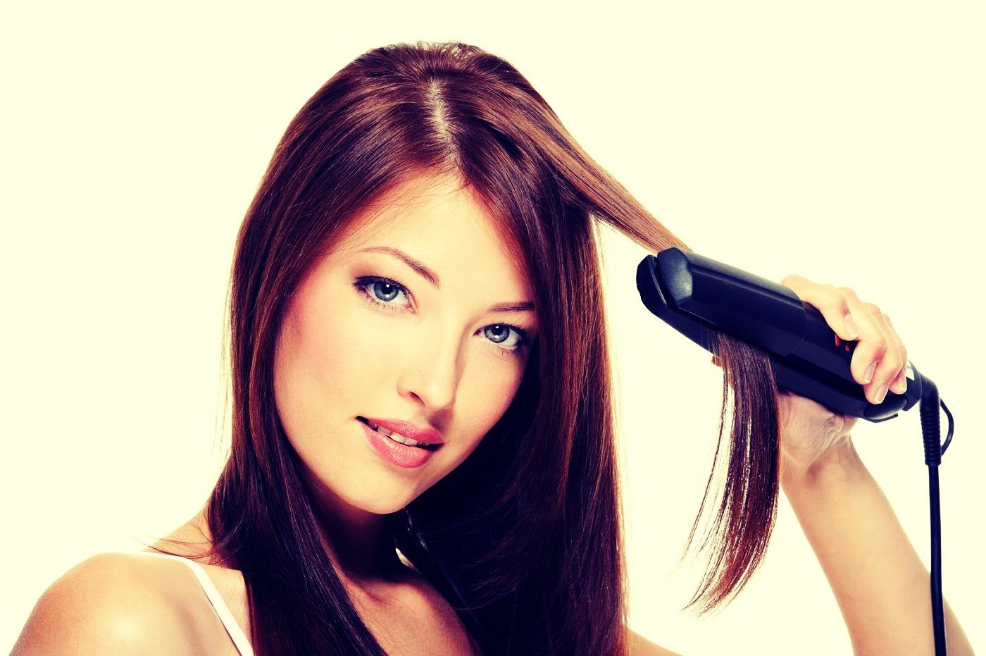 Как в домашних условиях волосы сделать прямыми