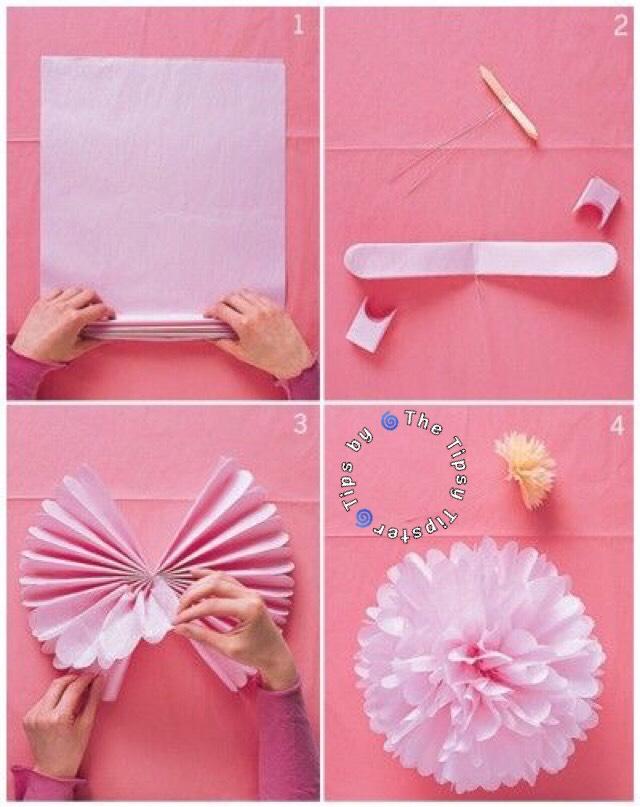 Как сделать поделку из бумаги цветы