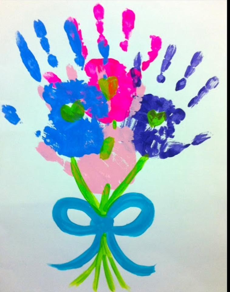 Рисунок для мамы подарок своими руками