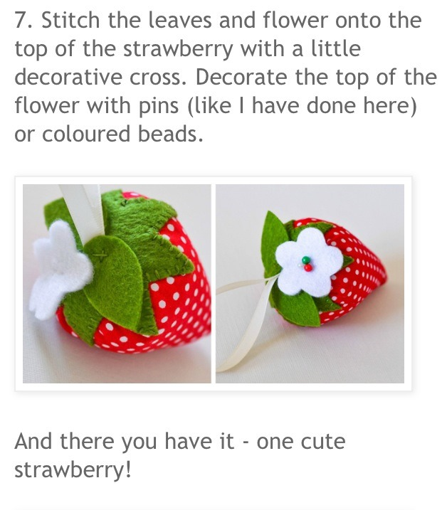 how to make a strawberry