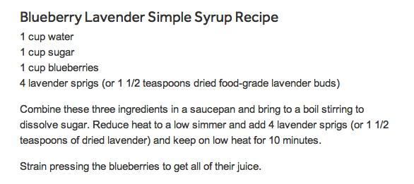 "Blueberry Lavender Vodka Spritzer "" - Musely"