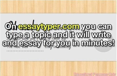 easy way to write essay