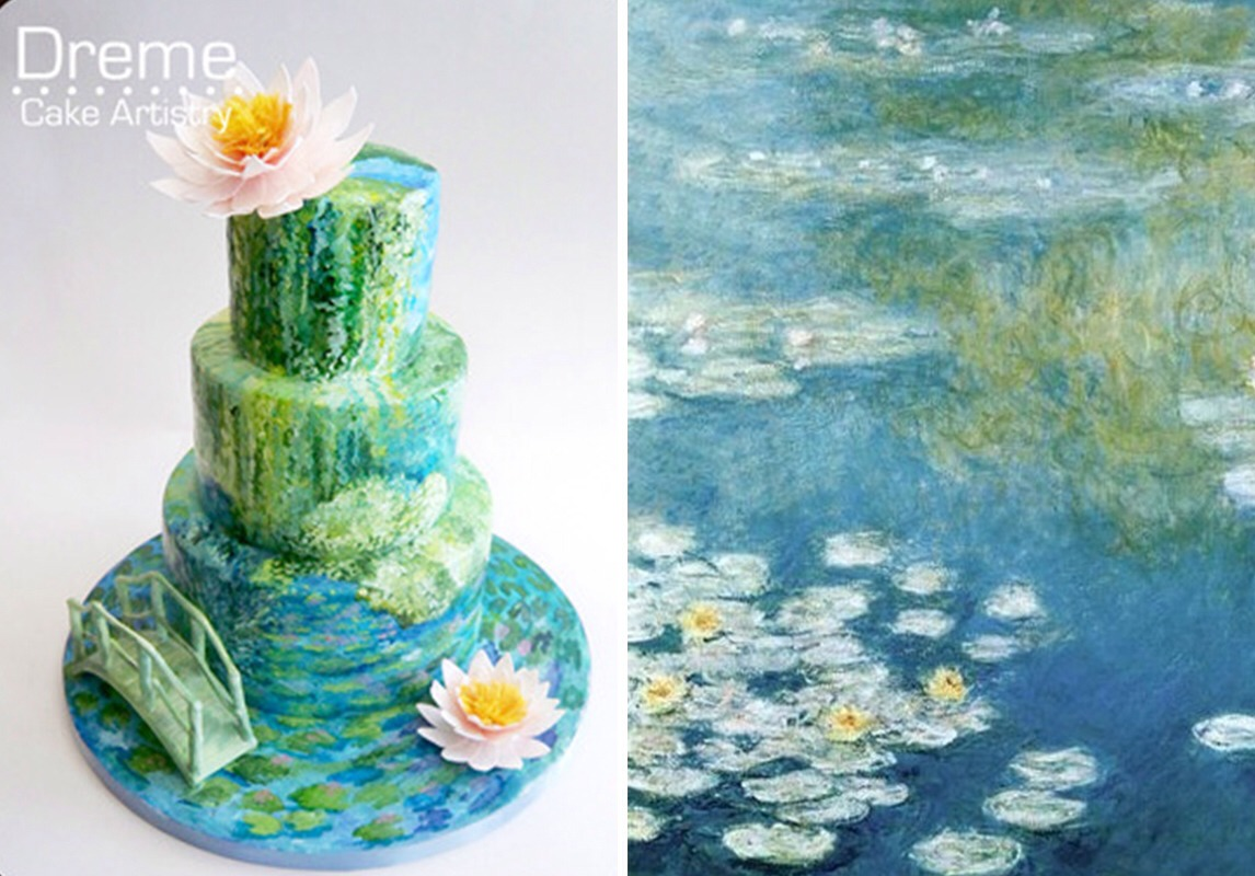 Famous Pieces Of Art Cakes Musely