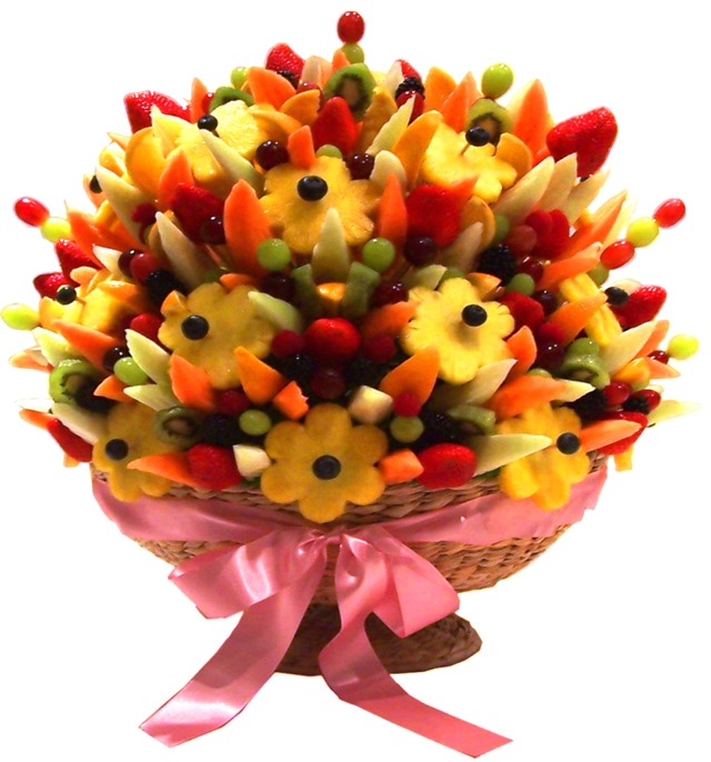 Enjoy This Video On How To Make Edible Fruit Bouquets And Arrangements Using Dried Chocolate