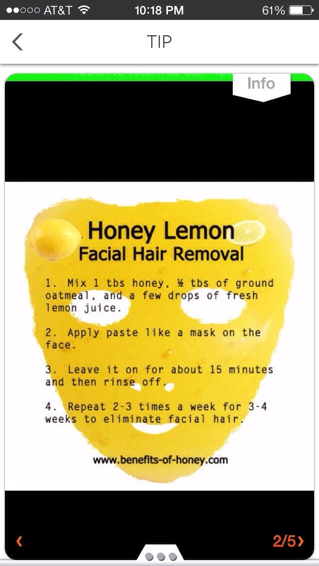 how to make wax for hair removal without lemon