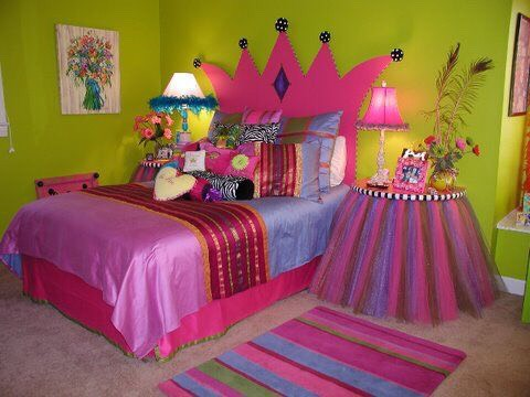 Diy princess themed bedroom princess this room is perfect for Diy princess bedroom ideas