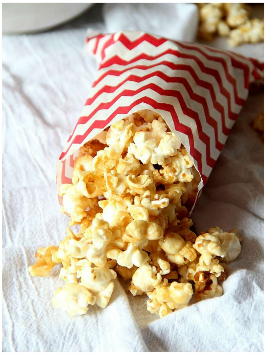 Salted Caramel Popcorn Recipe Musely