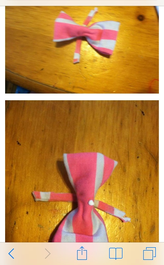 how to make a hair bow out of short hair