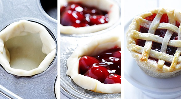 how to make pies in cupcake pans