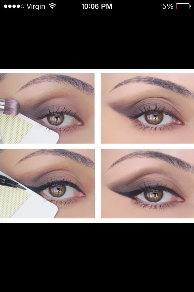 Easy Way To Do Winged Eyeliner
