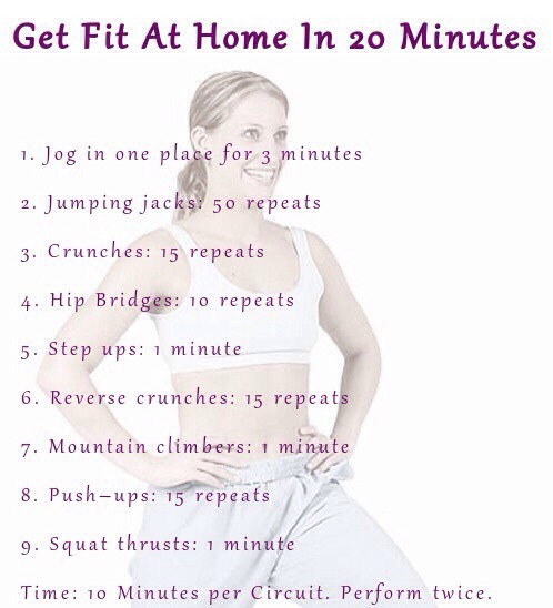 how to get fit in 5 minutes