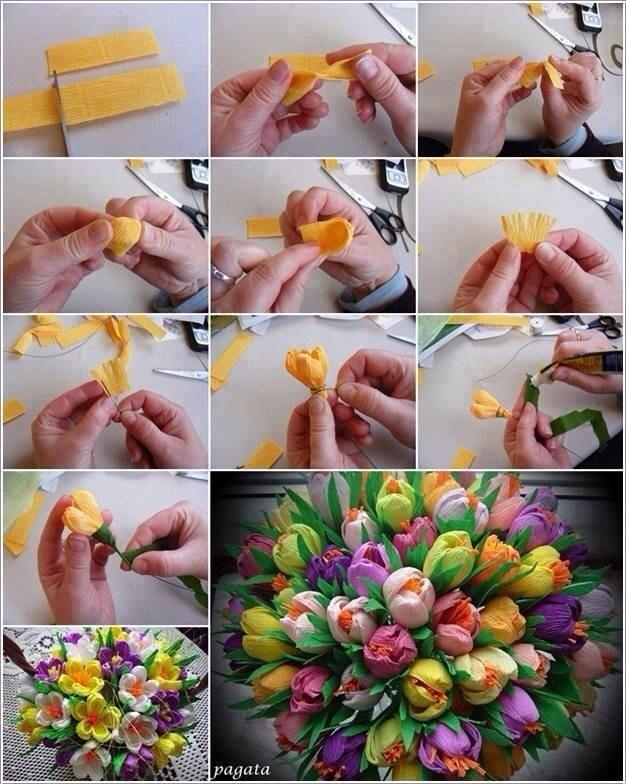 Как сделать самим цветы своими руками 613