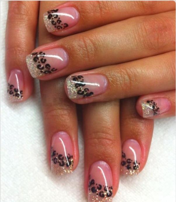 Фото ногти с блесками
