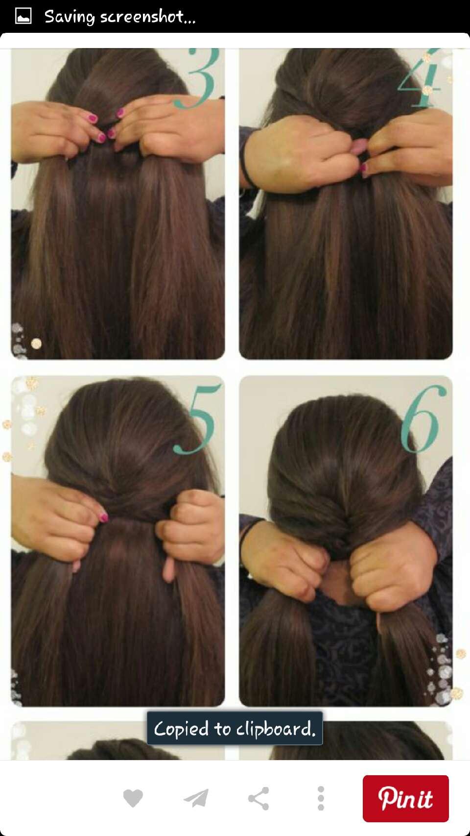 Варианты причесок для длинных волос на каждый день своими руками