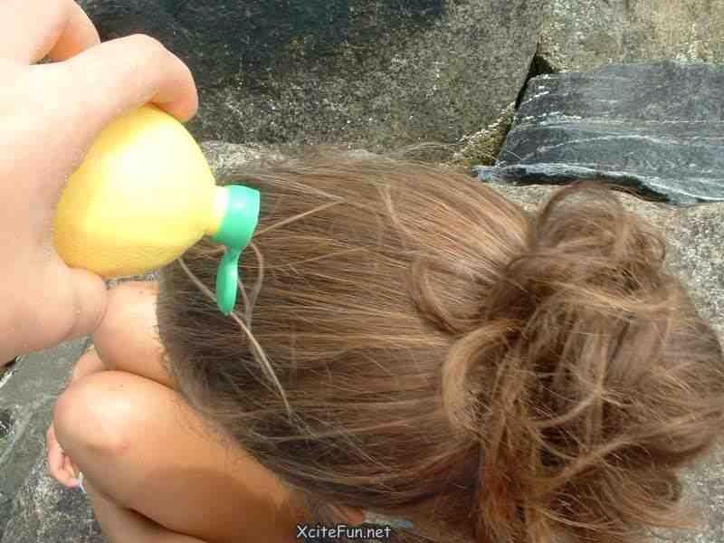 How To Lighten Up Hair Naturally