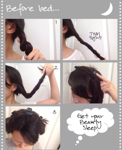 How To Get No Heat Curled Hair Over Night Tipit Musely