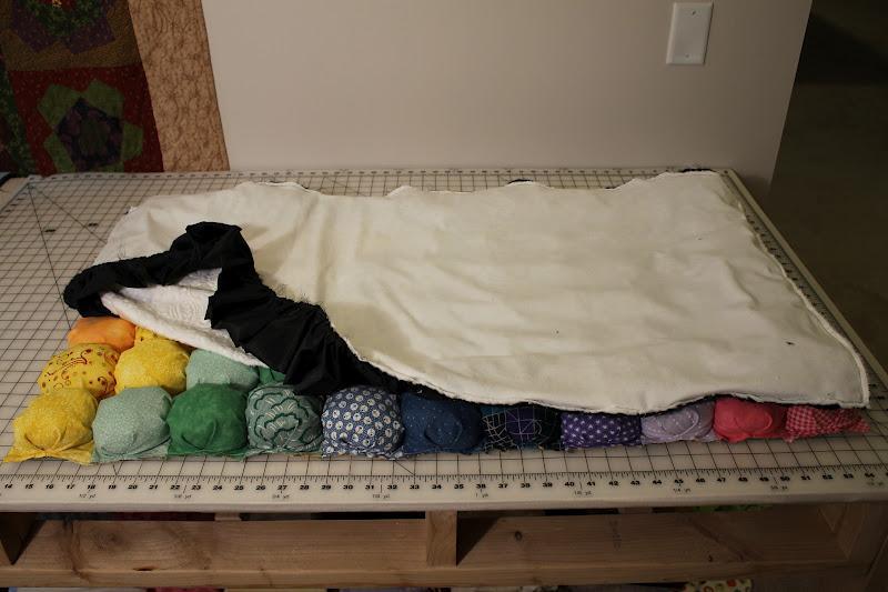 Самому сшить ватное одеяло 70