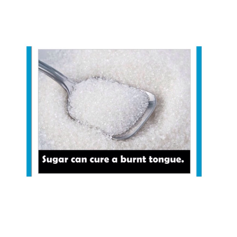 how to help a burnt tongue