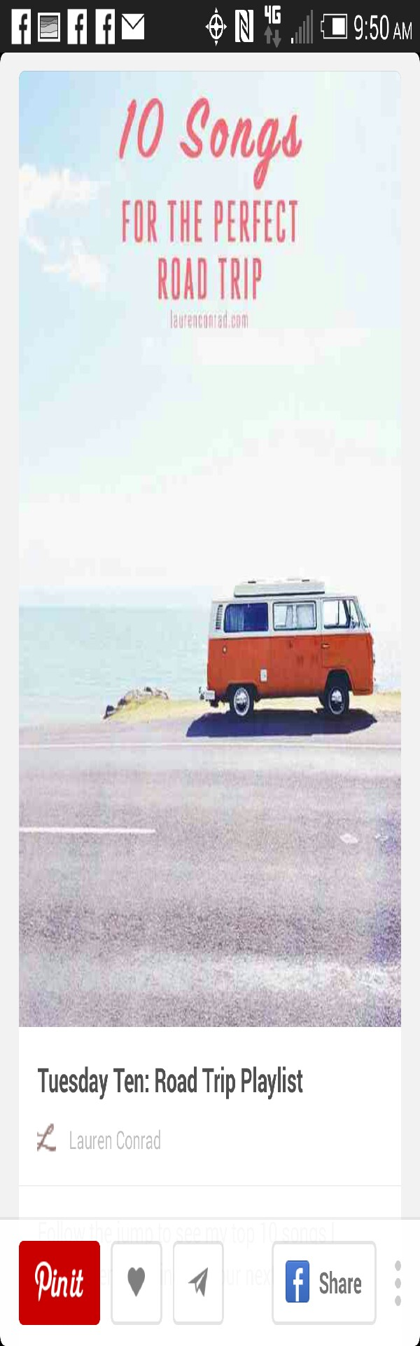 10 Songs For The Perfect Road Trip💫 Musely