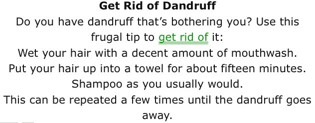 how to get rid of baby dandruff