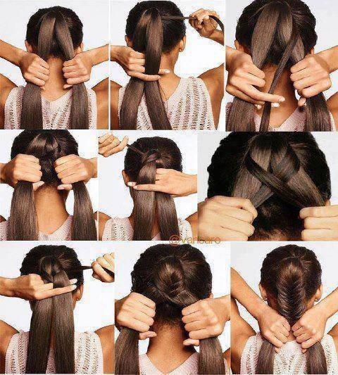 Прически для начинающих в домашних условиях на средние волосы