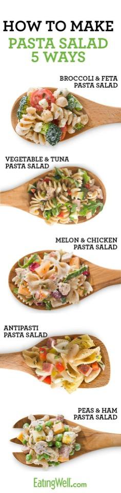 how to make linguine pasta salad