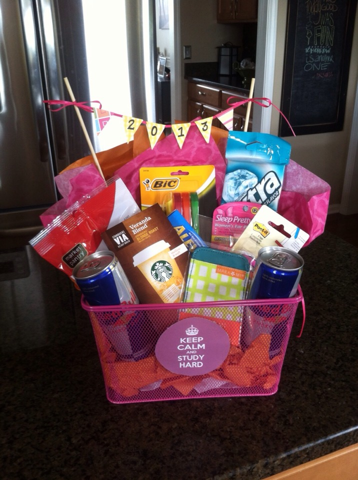 Birthday Gift Baskets For College Students : Musely